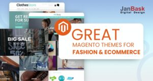 Great Magento theme for fashion & ecommerce sites