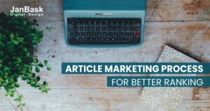Article Marketing Process for better Ranking
