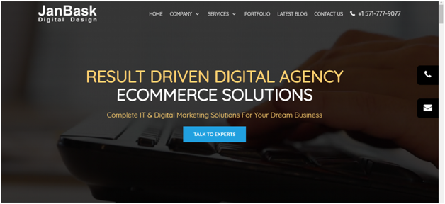 Website Generate the target Leads