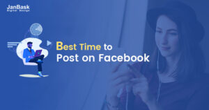 Time of Facebook posts as per the Target Audience