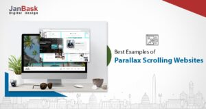 What is parallax scrolling