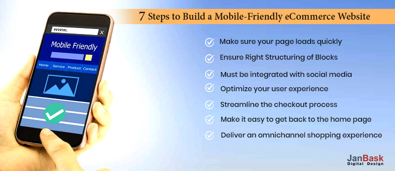 7 Steps to Build a Mobile-Friendly eCommerce Website & Boost Your Conversion Rates & Sales