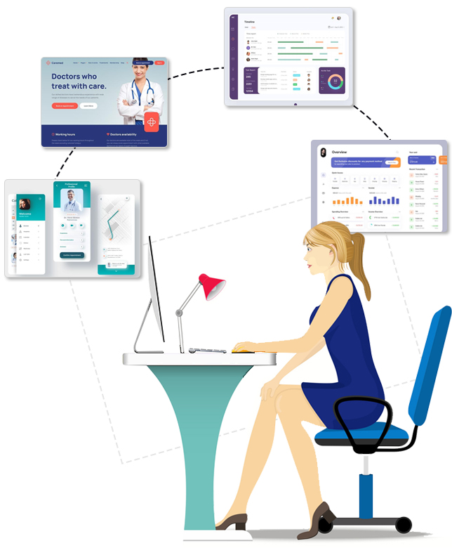 Get Innovative Healthcare Website Design Solutions For Every Business Process You Own!