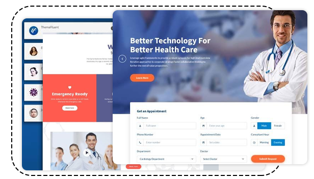 best startup website design