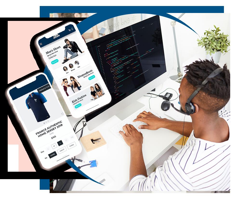 e-Commerce Magento Apparel  Fashion
