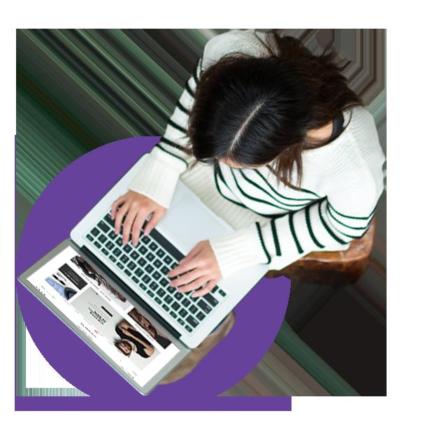custom ecommerce website