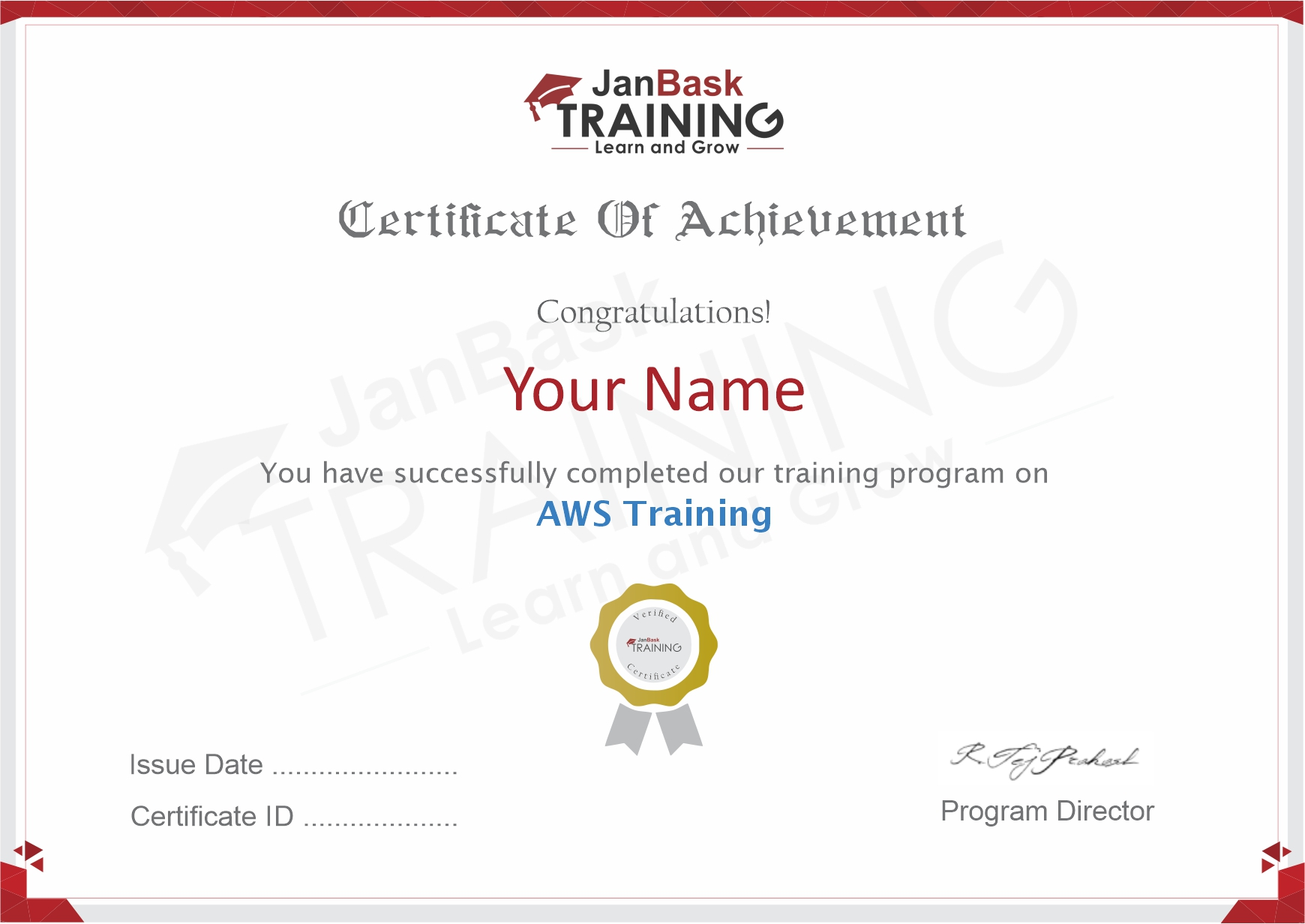 AWS Certificate